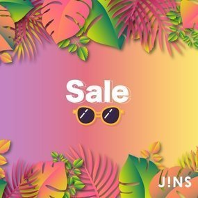 JINS香港 Further Sale
